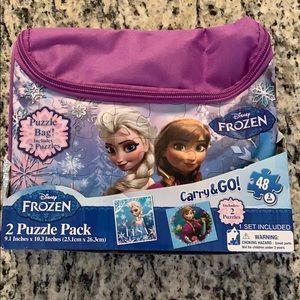 Frozen Carry & Go Fashion Bag New